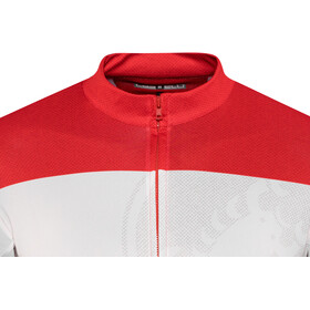 Castelli Ruota Maillot FZ Hombre, red